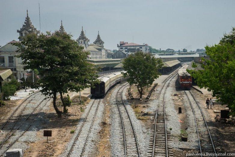 На поезде по Мьянме. Впечатления русского туриста