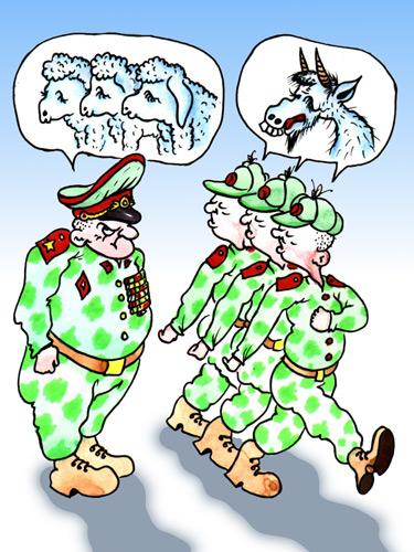 СМЕХОТЕРАПИЯ. Армейские маразмы. (3)