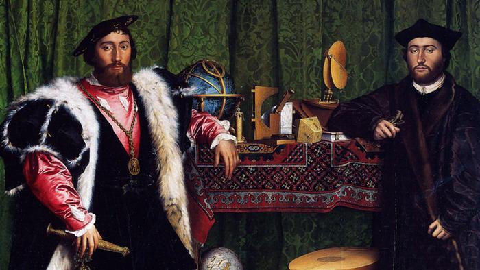 «Послы» Гольбейна: 15 малоизвестных фактов о необычном портрете кисти придворного художника Генриха VIII