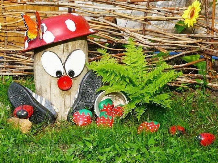 Сад и огород своими руками поделки фото