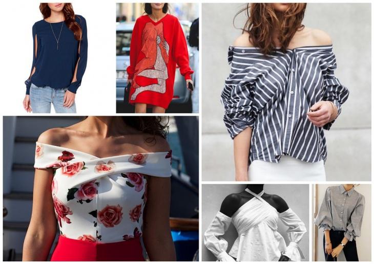 Идеи по декору и переделке футболок, блузок, водолазок, свитеров..