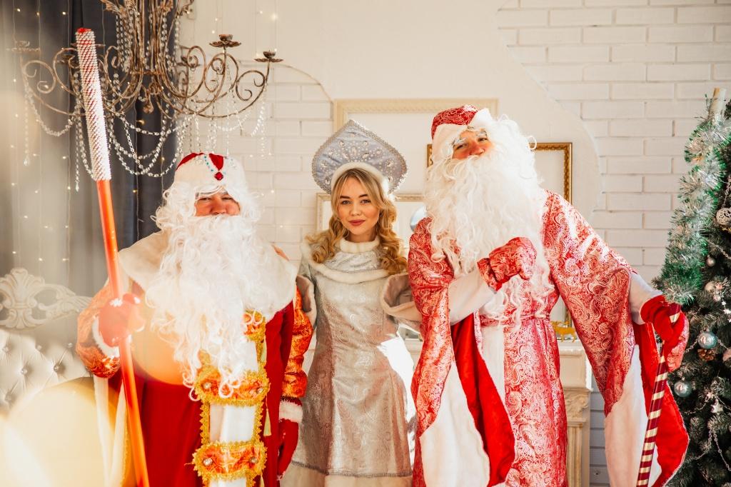 Как Тимофей, два Деда Мороза и  Снегурочка попали в новогоднее чудо