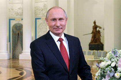 Путин поздравил российских женщин