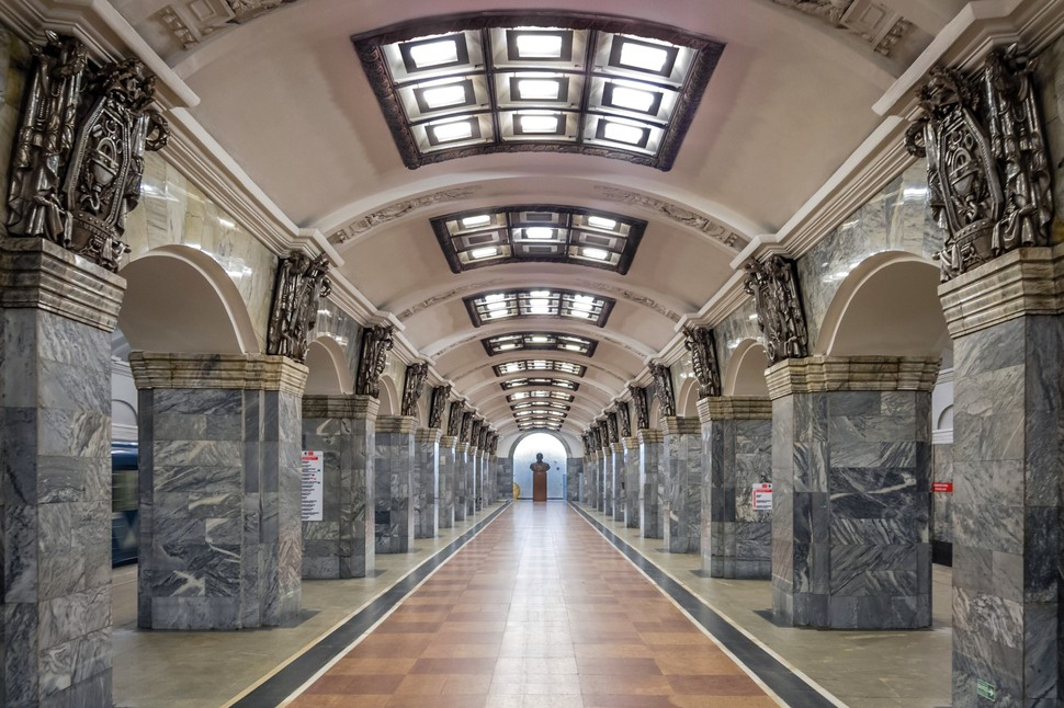 MetroStations40 17 самых волшебных станций метро со всего мира