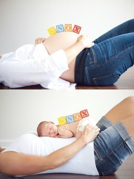 Фотосессия в домашних условиях для беременных