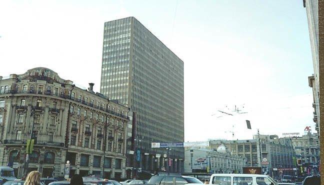 5. «Интурист», Москва Отель, архитектура, гостиница, история, россия, тайны