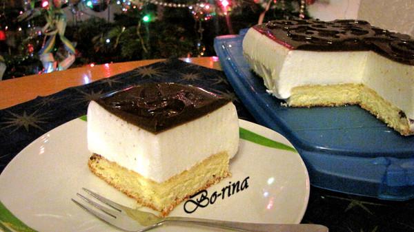 "Торт-десерт ""Птичье молоко"""