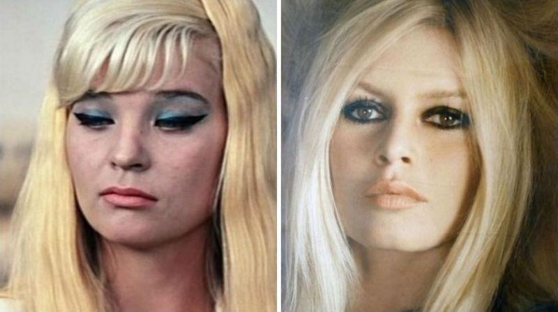 Отечественные актрисы похожие на иностранных