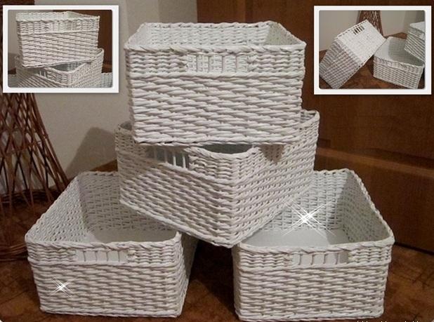 Коробка из газетных трубочек своими руками мастер класс 63