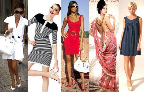 Какого фасона бывают платья