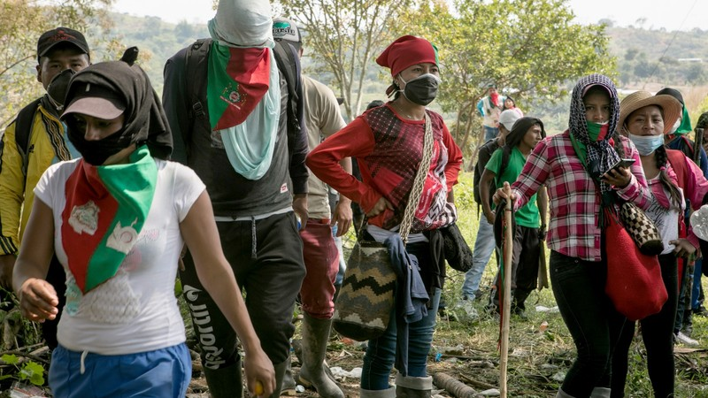 Смерть в Колумбии