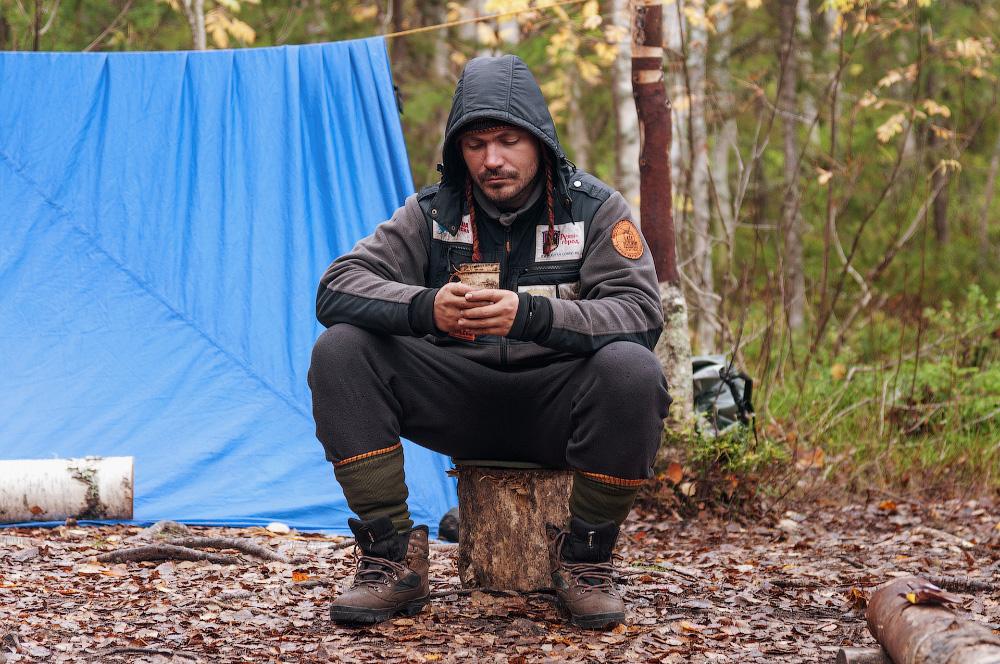 Как ночевать в лесу без палатки? :  если так случилось