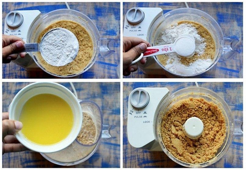 Безумно вкусные и красивые «Мятно-лимонные пирожные»