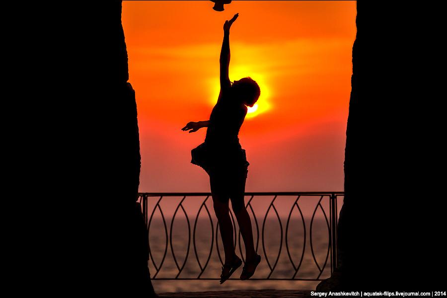 Балетные па заходящего солнца