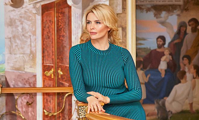 В гостях у Анны Чуриной: как живет актриса и в чем секрет ее счастливого брака с Алексеем Петрухиным