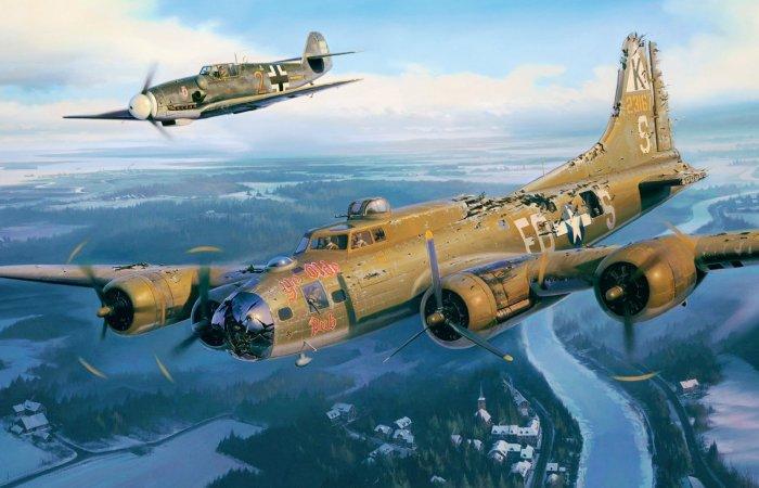 Почему во время Второй Мировой немецкий ас пожалел вражеский самолет и спас 9 жизней