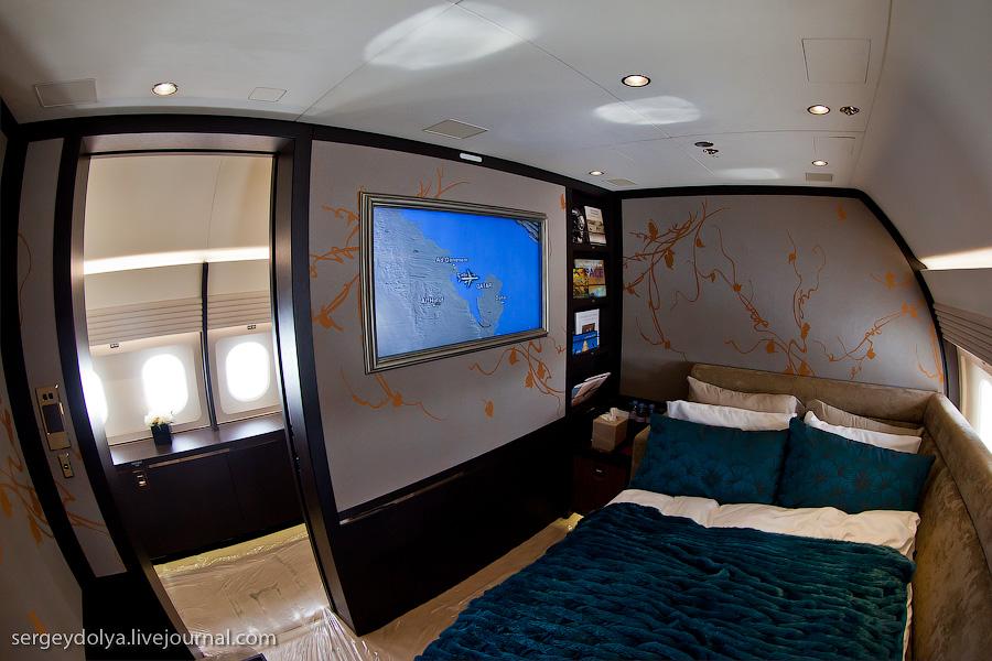 2443 Бахрейнский авиасалон: Интерьеры самолетов