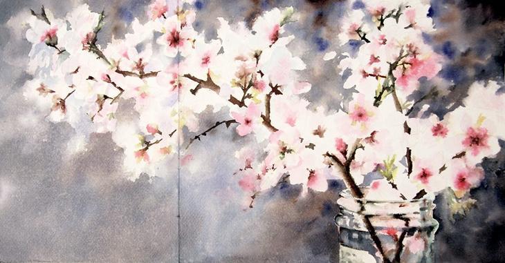 Ее акварели излучают свет — радостные картины Валентины Верлато
