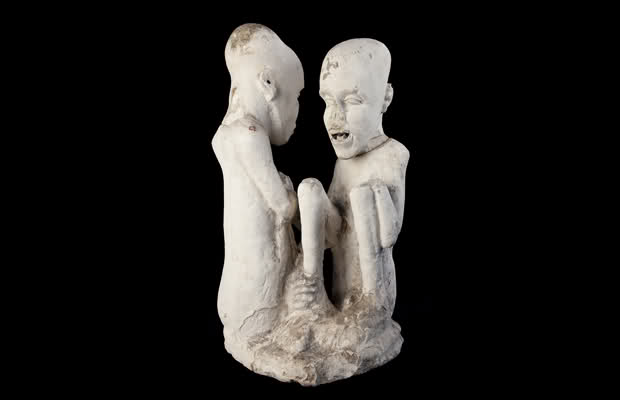Загадочная статуя из древнего Египта