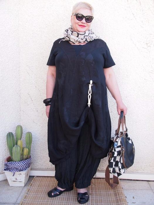 Одежда Бохо Для Полных Фото