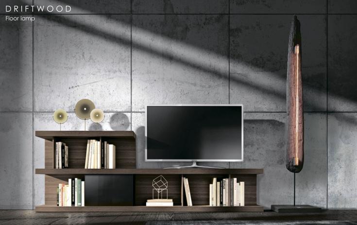 Проект DRIFTWOOD напольный светильник
