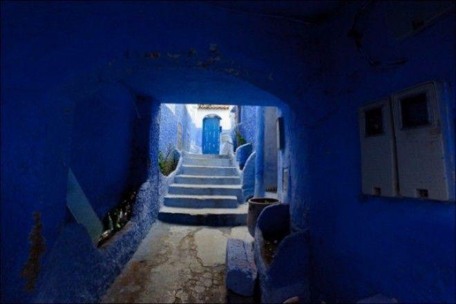 путешествие синий город 06