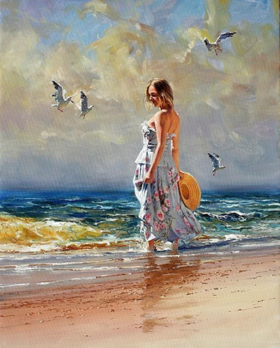 женщина и море Robert Hagan - 09
