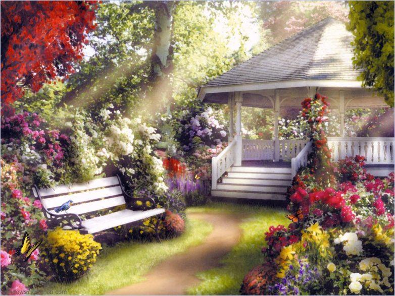 Превращаем сад в райский уголок
