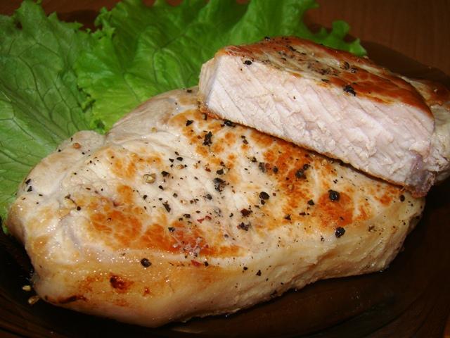 Сочные стейки из свинины в духовке рецепт