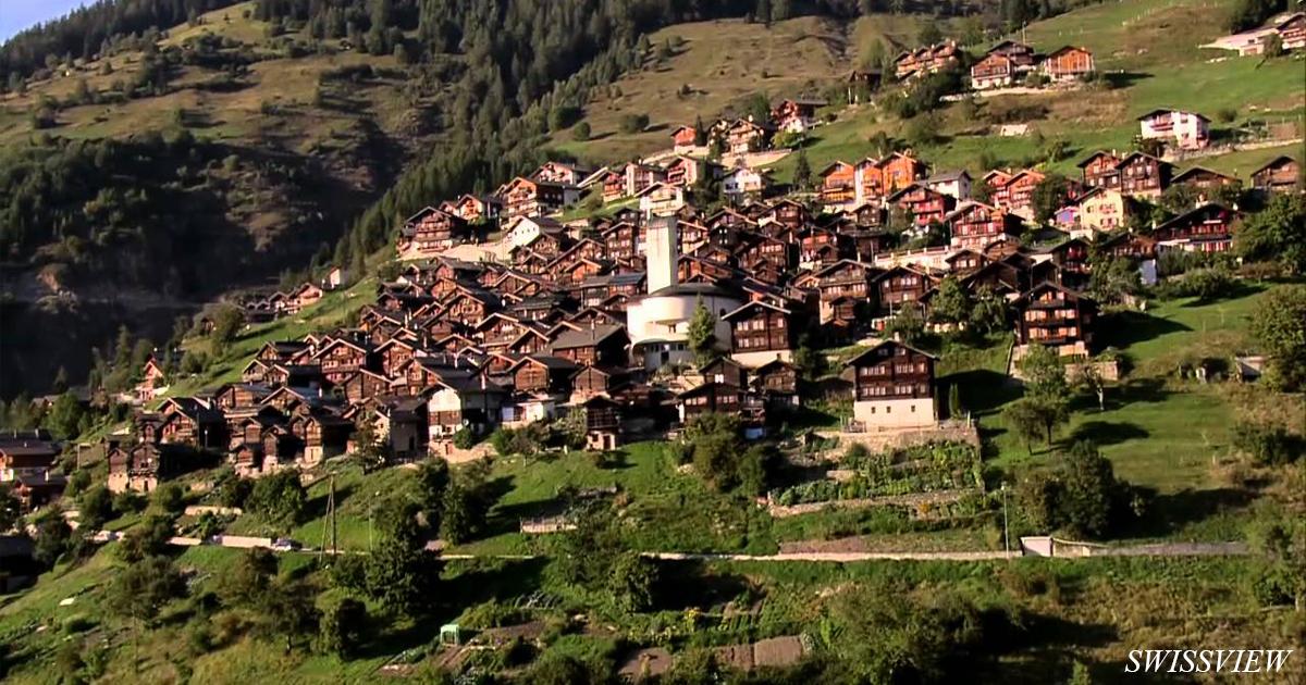 За переезд в деревню в Швейцарии вам просто так дадут $70 000! Вот что надо делать