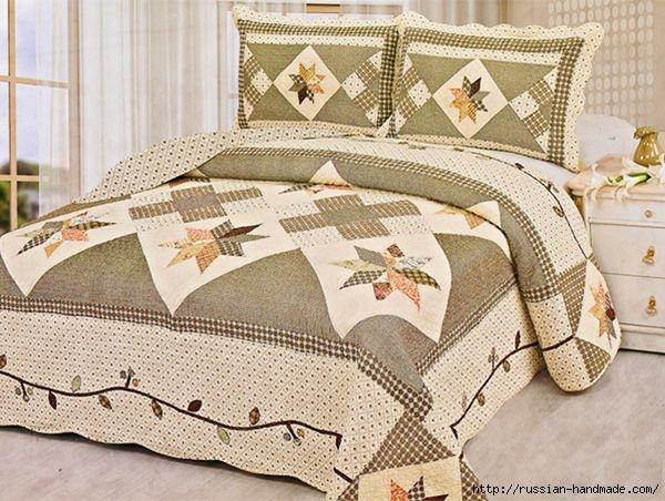 Шьем одеяло в технике ПЭЧВОРК. Учебный курс (16) (600x452, 208Kb)