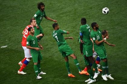 Саудовских футболистов накажут за проигрыш россиянам