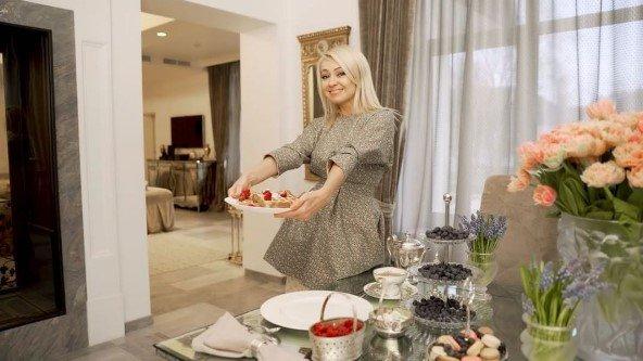Яна Рудковская поделилась рецептом вафель
