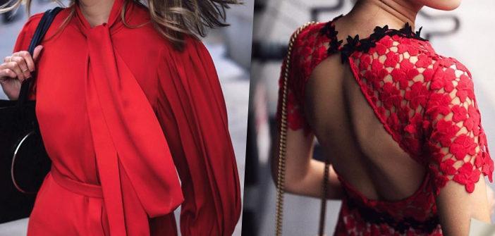 Когда нужно быть в центре внимания: платья в самом модном цвете «гренадин»