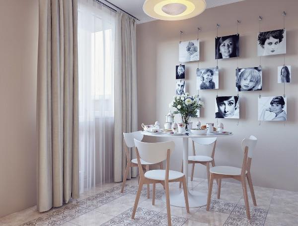 Картины на стенах в кухне дизайн стен 69