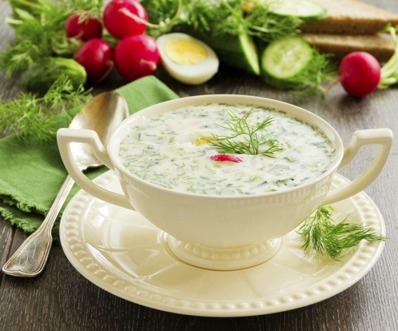 Кефирный суп для снижения ве…