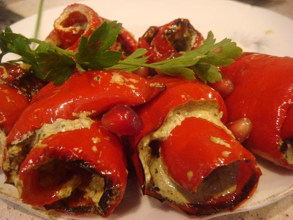 Сочные перцы по-армянски