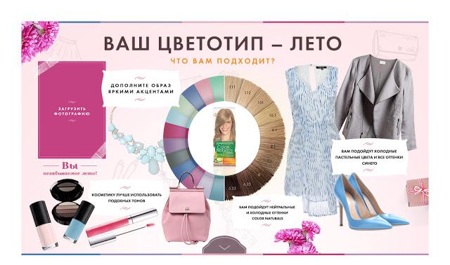 Одежда к цветотипу натуральное лето