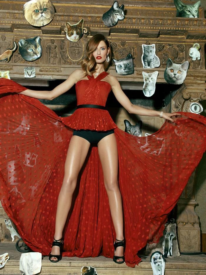 Бьянка Балти (Bianca Balti) в фотосессии Пьерпаоло Феррари (Pierpaolo Ferrari) для журнала Tatler Russia (сентябрь 2013), фото 1