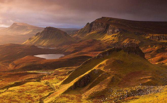 Прекрасная красота природы Шотландии
