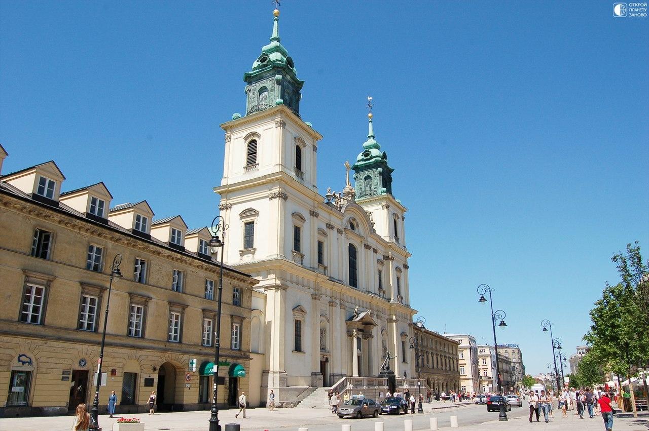 Костел Святого Креста в Варшаве