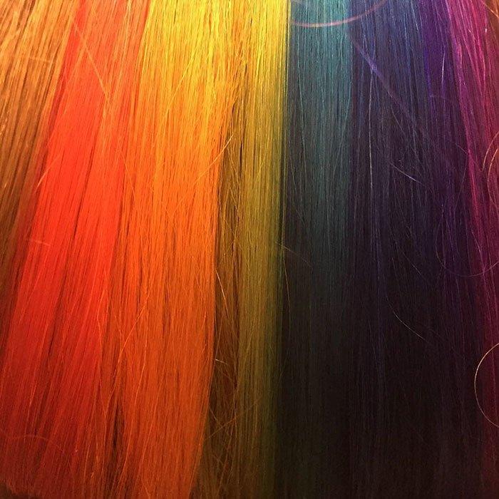 Новый тренд: радуга в волосах (5 фото)