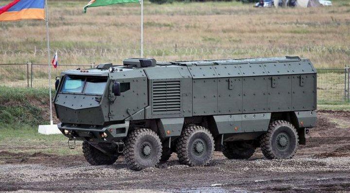 «Тайфун-У» — армейский грузовик для российской армии