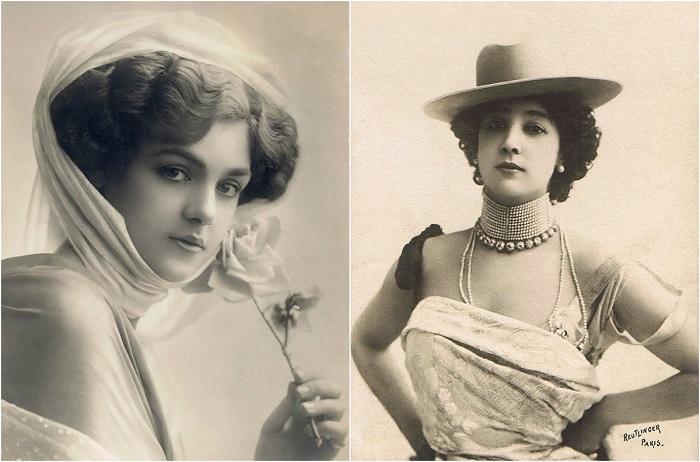 Взгляд в прошлое: женская красота на открытках начала XX века