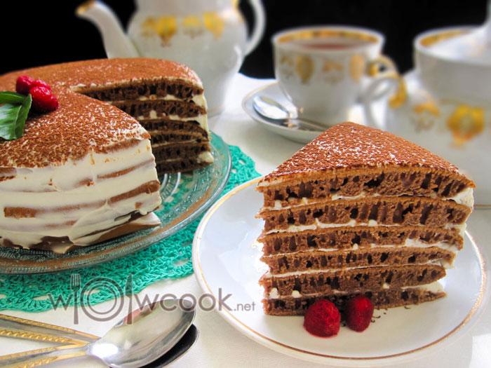 ингредиенты для шоколадного торта на сковороде