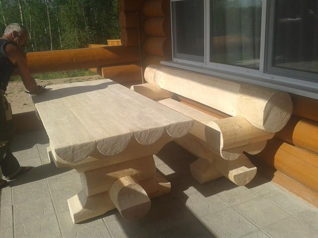 Вот какую мебель сделал из сосны!