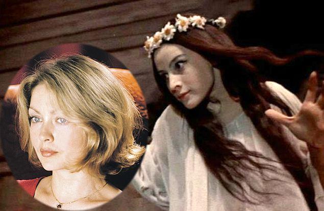 Панночкой неиспугалась стать Наталья Варлей. Апробовалась на эту роль Жанна Болотова (фото в кружке).