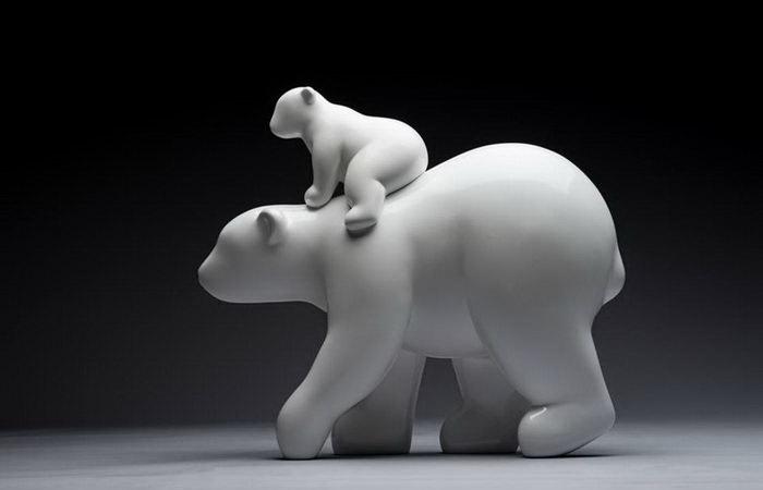 Забавные корейские скульптуры на самые злободневные темы, которые важны для всех