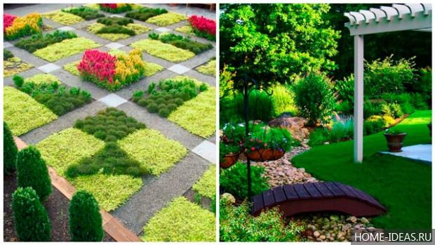 Садовый дизайн своими руками на 6 сотках видео