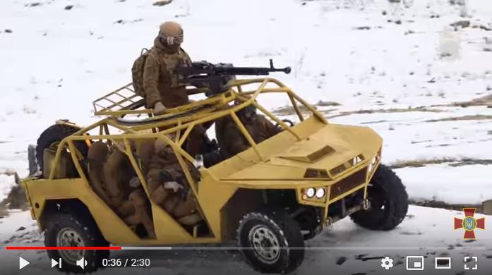 «Отличная мишень для снайперов»: новый автомобиль нацгвардии Украины высмеяли в Сети